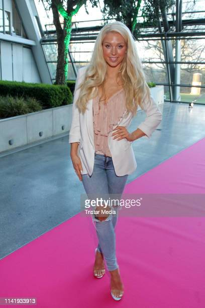 Aneta Sablik attends the opening of the new Europcar mobility group headquarter on April 10 2019 in Hamburg Germany