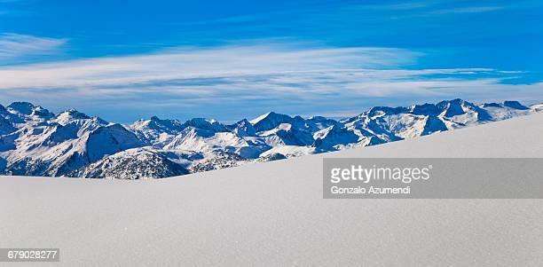 Aneto mountain and Maladeta massif