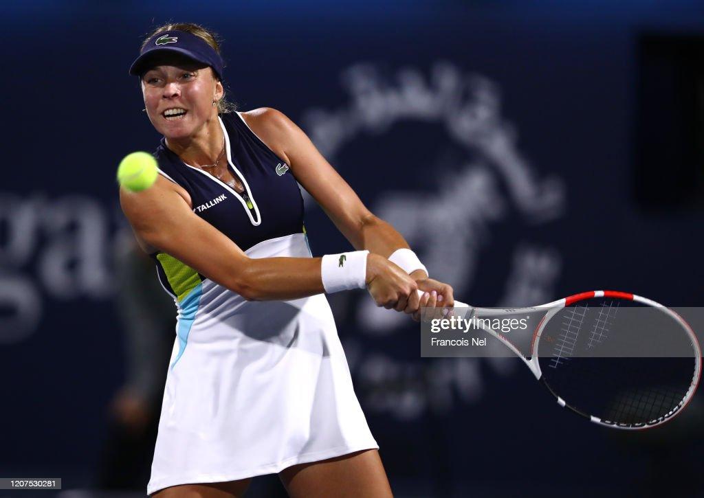 Dubai Duty Free Tennis - Day Four : News Photo