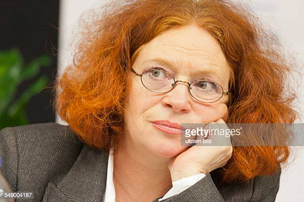 Anetta Kahane head of the Antonio Amadeu Foundation caring about the victims of racist violence in Germany