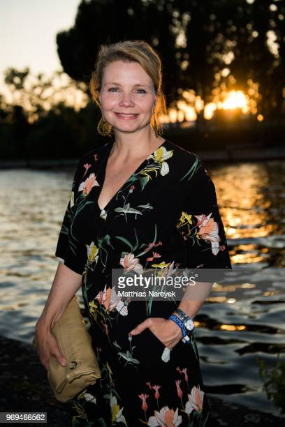 Anette Frier Attends The Summer Party Of The German Producers Alliance On June 7 2018 In