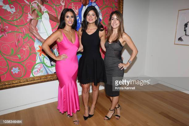 Anette Keroew Yvonne Najor and Veronica Delgado at Thomas Keown 40th Birthday To Benefit Many Hopes on September 22 2018 in New York City