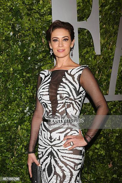 Anette Michel attends the Vanity Fair México magazine launch at Casa Del Lago on March 24 2015 in Mexico City Mexico