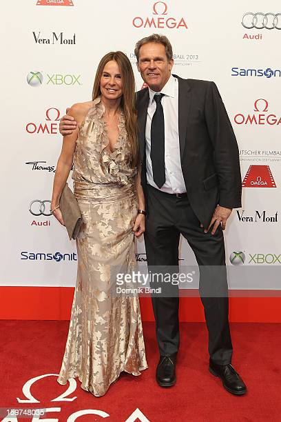 Anette Tramitz and Christian Tramitz attend the Germany Filmball 2013 at Hotel Bayerischer Hof on January 19 2013 in Munich Germany