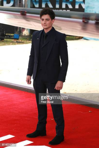 Aneurin Barnard arrives at the 'Dunkirk' World Premiere at Odeon Leicester Square on July 13 2017 in London England