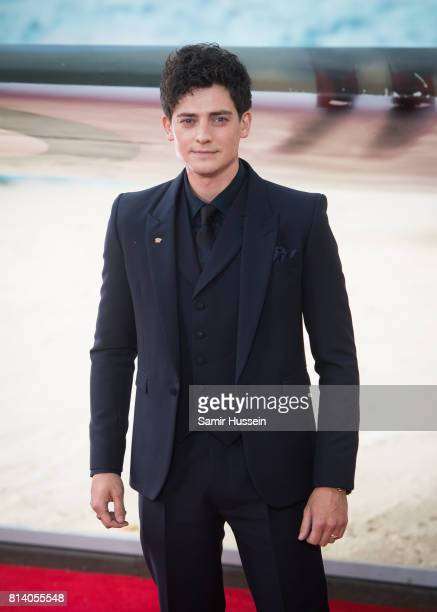 Aneurin Barnard arriving at the 'Dunkirk' World Premiere at Odeon Leicester Square on July 13 2017 in London England
