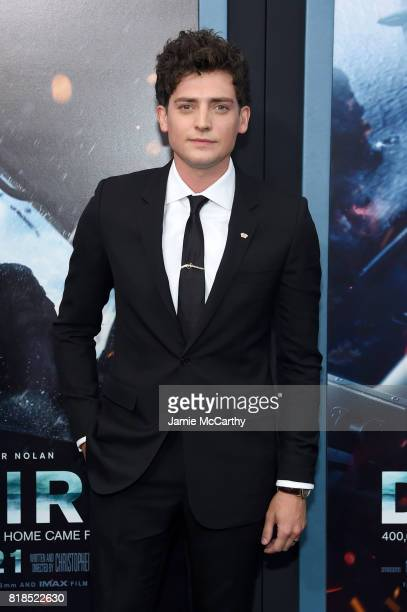 Aneurin Barnard attends the 'DUNKIRK' New York Premiere on July 18 2017 in New York City