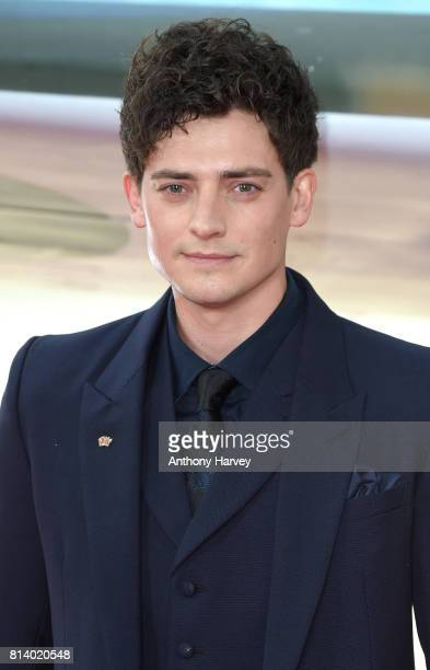 Aneurin Barnard attends the 'Dunkirk' World Premiere at Odeon Leicester Square on July 13 2017 in London England