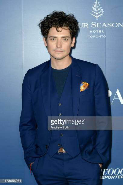 Aneurin Barnard attends The Hollywood Foreign Press Association and The Hollywood Reporter party at the 2019 Toronto International Film Festival at...