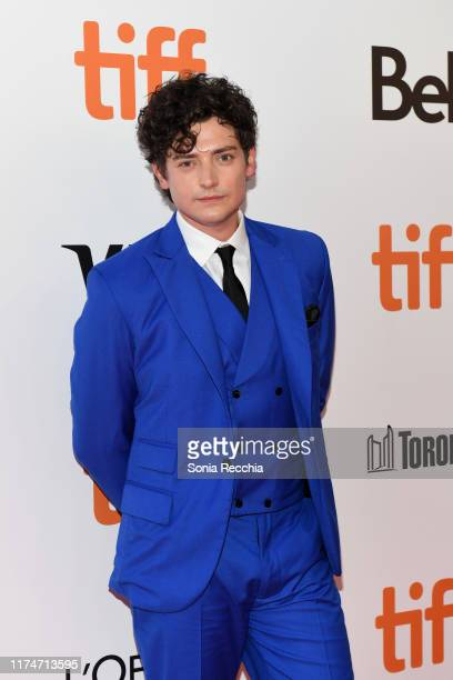 Aneurin Barnard attends the Radioactive premiere during the 2019 Toronto International Film Festival at Princess of Wales Theatre on September 14...