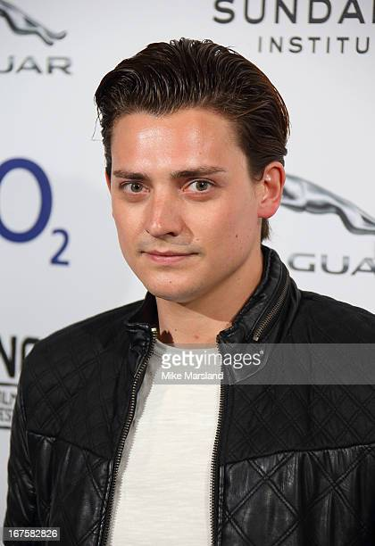 Aneurin Barnard attends the UK Premiere of 'Emanuel and the Truth About Fishes' as part of Sundance London at Cineworld 02 Arena on April 26 2013 in...