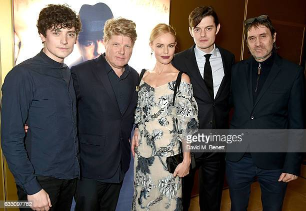 Aneurin Barnard Robert Wade Kate Bosworth Sam Riley and Neal Purvis attend the world premiere of BBC One's SSGB at the May Fair Hotel on January 30...