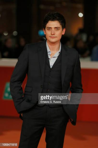 Aneurin Barnard walks the red carpet ahead of the 'Dead In A Week Or Give Your Money Back' screening during the 13th Rome Film Fest at Auditorium...