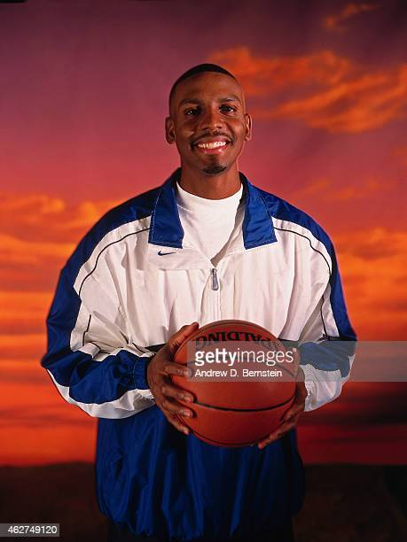 Anfernee Hardaway of the Orlando Magic poses for a portrait during NBA AllStar Weekend on February 6 1998 in New York City NOTE TO USER User...