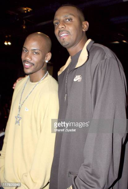 Anfernee Penny Hardaway and Stephon Marbury of The New York Knicks