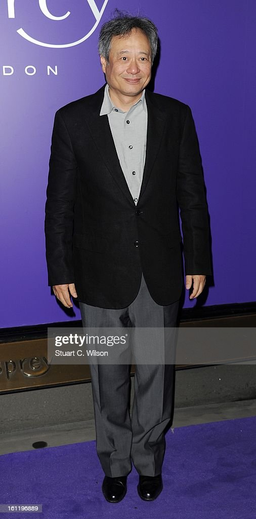 Ang Lee attends the EE British Academy Film Awards nominees party at Asprey London on February 9, 2013 in London, England.