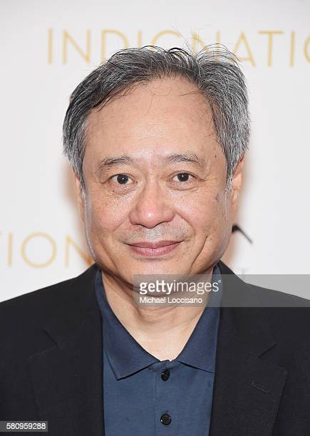 Ang Lee attends the 'Indignation' New York premiere at the Museum of Modern Art on July 25 2016 in New York City