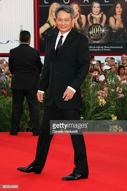 Ang Lee attends the Opening Ceremony and Baaria Premiere at the Sala Grande during the 66th Venice International Film Festival on September 2 2009 in...