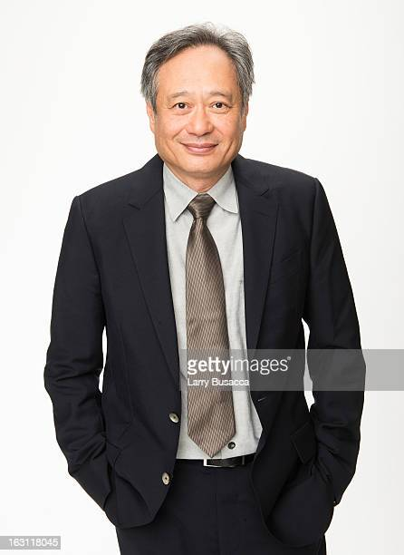 Ang Lee attends the Peoplecom Portrait Gallery at the 85th Academy Awards Nominees Luncheon at The Beverly Hilton Hotel on February 4 2013 in Beverly...