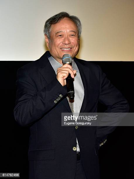 Ang Lee attends the RealD Sponsors World Premiere of Billy Lynn's Long Halftime Walk at AMC Loews Lincoln Square on October 14 2016 in New York City