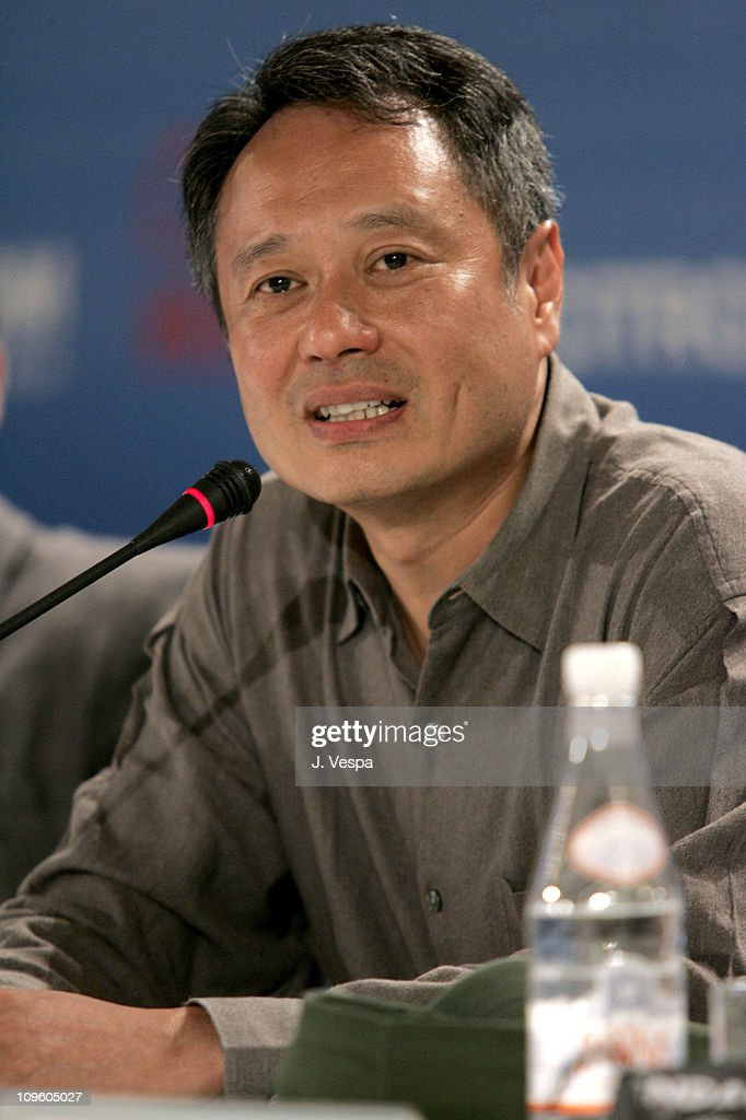 Ang Lee, director during 2005 Venice Film Festival - 'Brokeback Mountain' Press Conference at Casino Palace in Venice Lido, Italy.