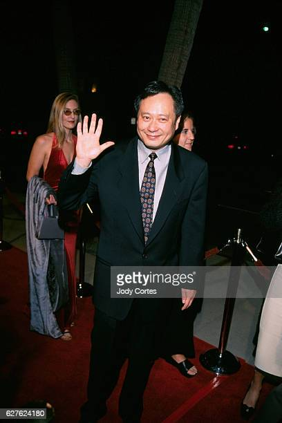 Ang Lee director of 'Crouching Tiger Hidden Dragon' at the Los Angeles premiere of the film