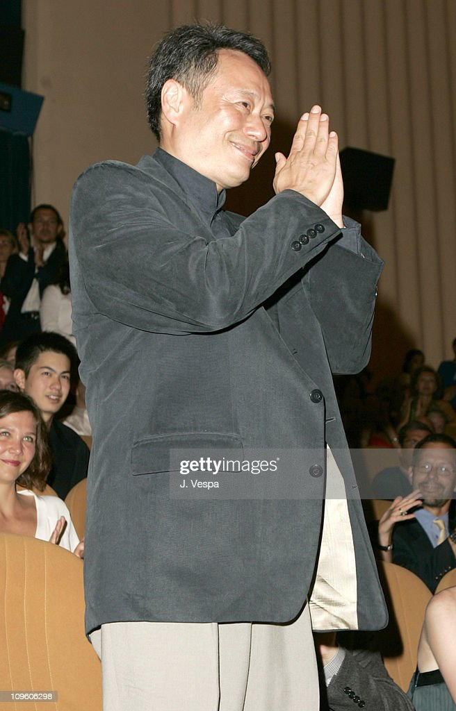 Ang Lee during 2005 Venice Film Festival - 'Brokeback Mountain' Premiere - Inside at Palazzo del Cinema in Venice Lido, Italy.