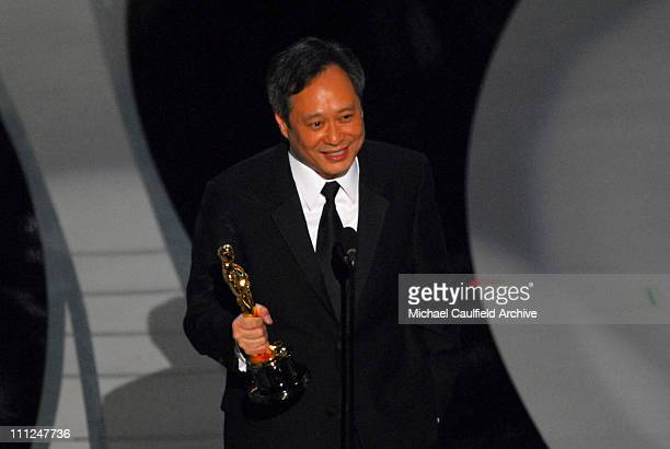 Ang Lee wins award for Achievement in Directing for Brokeback Mountain