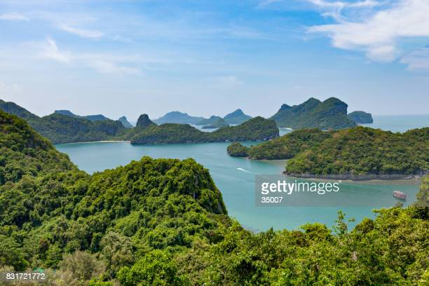 ang thong national marine park archipal - surat thani province stock pictures, royalty-free photos & images