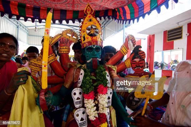 Angalamman Festival, Kaveripattinam, Tamil Nadu, India