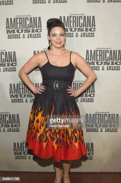 Angaleena Presley attends the 2017 Americana Music Association Honors Awards on September 13 2017 in Nashville Tennessee