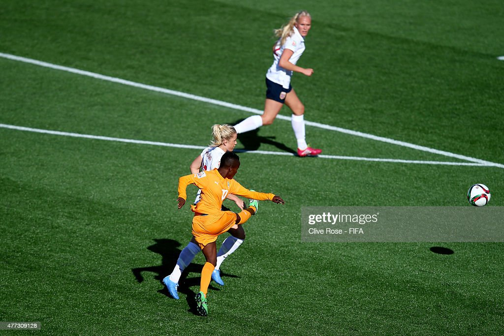 Cote D'Ivoire v Norway: Group B - FIFA Women's World Cup 2015 : News Photo
