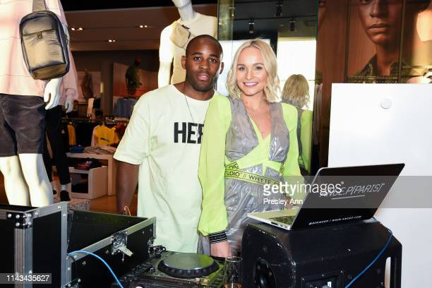 Ange P and Bianca Whyte attend launch event for Whyte Studio's Festival Capsule Collection at Top Shop at the Grove on April 17, 2019 in Los Angeles,...