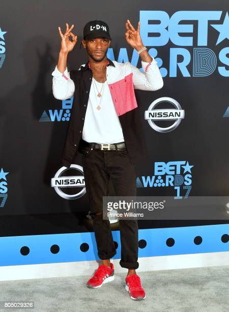 Angel attends the 2017 BET Awards at Microsoft Theater on June 25 2017 in Los Angeles California