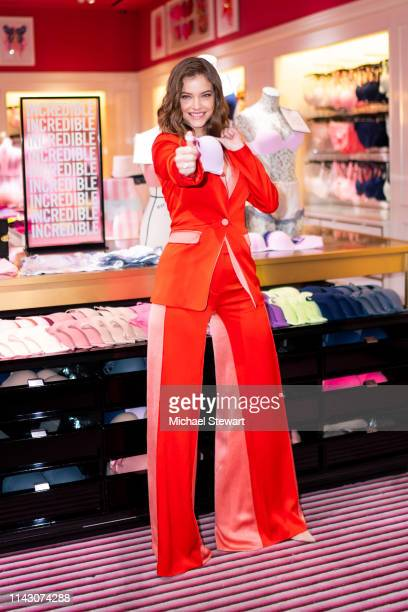Angel Barbara Palvin launches New Incredible By Victoria's Secret Collection at Victoria's Secret 5th Avenue Store on April 16 2019 in New York City