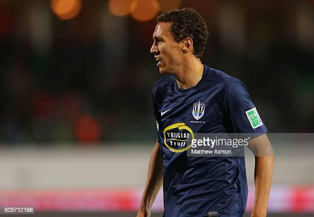 Angel Berlanga of Auckland City FC
