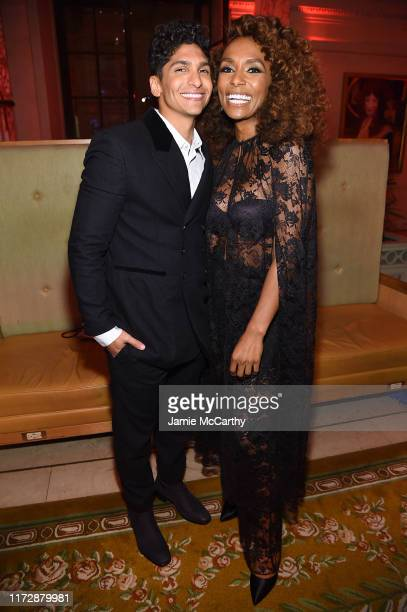 Angel Bismark Curiel and Janet Mock attend as Harper's BAZAAR celebrates ICONS By Carine Roitfeld at The Plaza Hotel presented by Cartier Inside on...