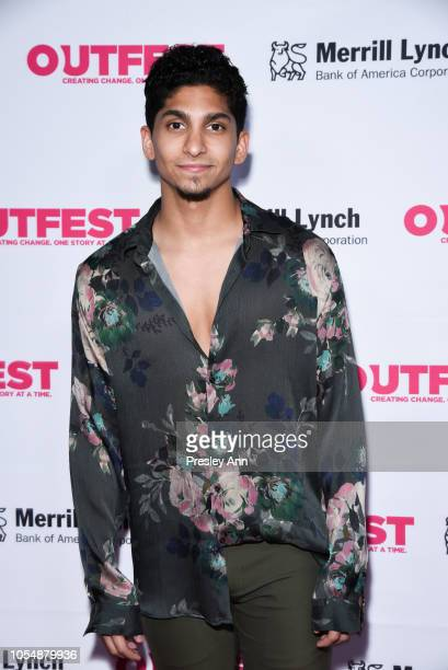 Angel Bismark Curiel attends 13th Annual Outfest Legacy Awards at Vibiana on October 28 2018 in Los Angeles California