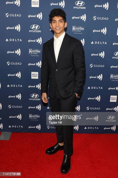 Angel Bismark Curiel attends the 30th Annual GLAAD Media Awards at New York Hilton Midtown on May 4 2019 in New York City