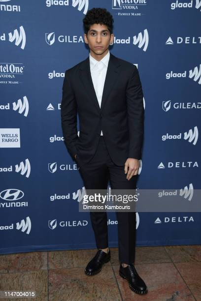 Angel Bismark Curiel attends the 30th Annual GLAAD Media Awards New York at New York Hilton Midtown on May 04 2019 in New York City