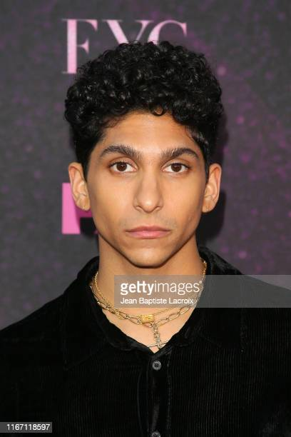 Angel Bismark Curiel attends the red carpet event for FX's Pose at Pacific Design Center on August 09 2019 in West Hollywood California
