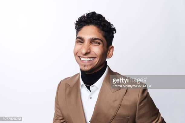 Angel Bismark Curiel poses for a portrait at The BAFTA Tea Party on January 5 2019 in Beverly Hills California
