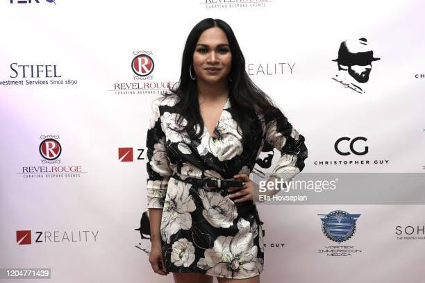 Angel Bonilla at the LA Launch Event Of SohoMuse at Christopher Guy West Hollywood Showroom on February 07 2020 in West Hollywood California