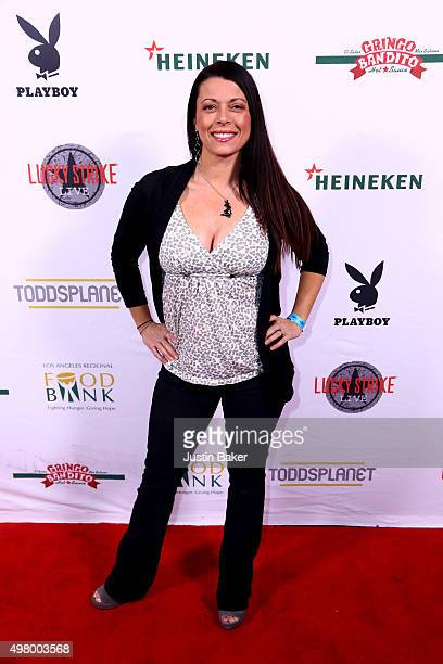 Angel Boris attends the 2nd Annual Bowling with Bunnies hosted by Lucky Strike benefiting the Los Angeles Regional Food Bank at Lucky Strike Bowling...