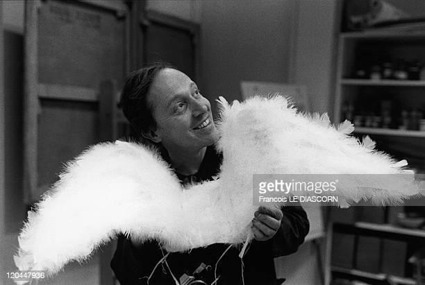 Angel Boris Tissot sculptor with angel wings
