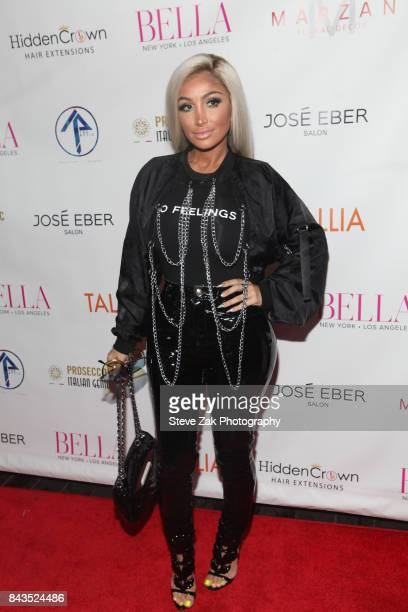 Angel Brinks attends Bella Magazine NYFW Kickoff Party at The Attic Rooftop Lounge on September 6 2017 in New York City