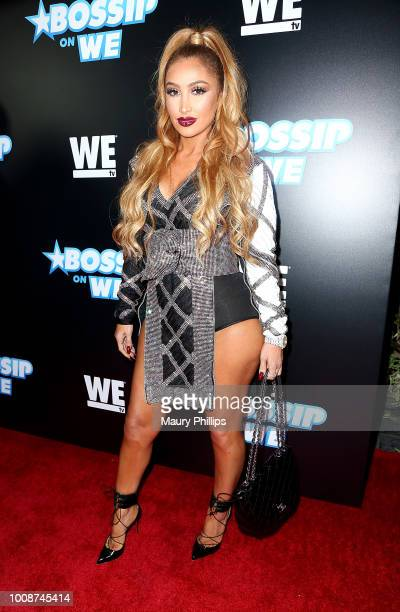 Angel Brinks attends Bossip Best Dressed List Event on July 31 2018 in Los Angeles California