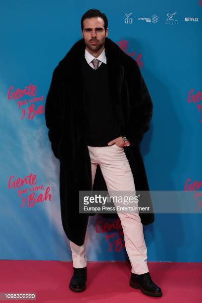 Angel Caballero attend the 'Gente que viene y bah' premiere at Capitol cinema on January 16 2019 in Madrid Spain