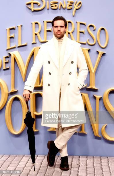 Angel Caballero attends 'El Regreso de Mary Poppins' premiere at Kinelpolis cinema on December 11 2018 in Madrid Spain