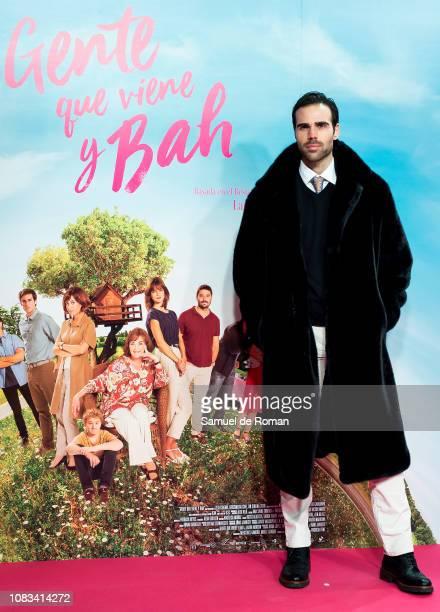 Angel Caballero attends Gente Que Viene Y Bah' Madrid Premiere on January 16 2019 in Madrid Spain